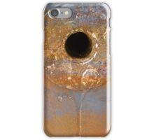 Golden circle iPhone Case/Skin