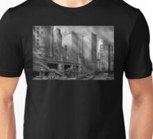 City - Chicago IL - Continuing a Legacy BW Unisex T-Shirt