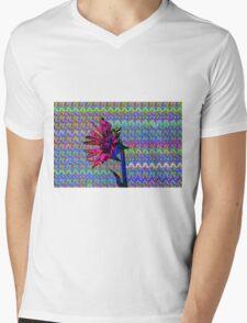 Sunflower Art Mens V-Neck T-Shirt