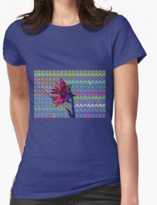 Sunflower Art Womens Fitted T-Shirt