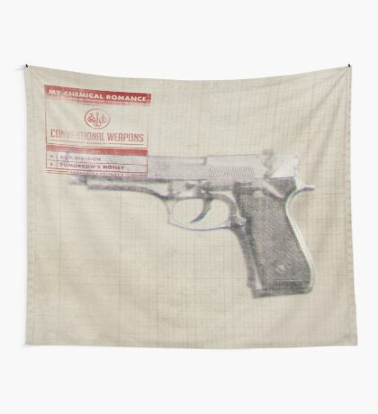 Conventional Weapons Number One Flag Wall Tapestry