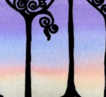 Winter Stroll Sticker