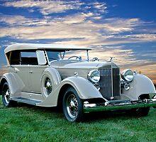 1934 Packard Dual Cowl Phaeton by DaveKoontz