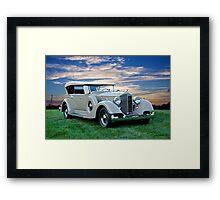 1934 Packard Dual Cowl Phaeton Framed Print