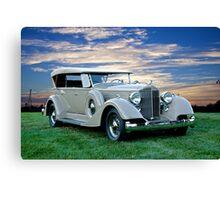 1934 Packard Dual Cowl Phaeton Canvas Print