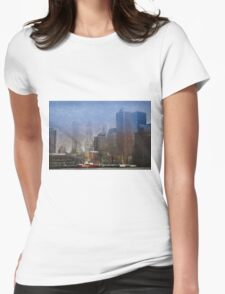 The Nature of Nantucket Womens Fitted T-Shirt