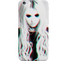 Taylor Momsen Holographic Print iPhone Case/Skin