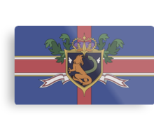 The Holy Empire of Britannia Flag Metal Print