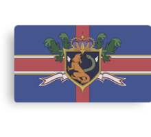 The Holy Empire of Britannia Flag Canvas Print