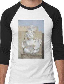 Guardian Angel Cimetière de Provence by ProvenceProvence Men's Baseball ¾ T-Shirt