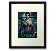Stephen Amell / Arrow 1 Framed Print