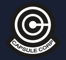 The Capsule Corporation logo Kids Clothes