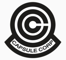 The Capsule Corporation logo One Piece - Long Sleeve
