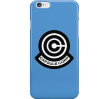 The Capsule Corporation logo iPhone Case/Skin
