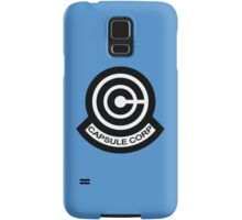 The Capsule Corporation logo Samsung Galaxy Case/Skin