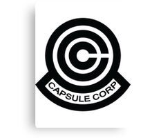 The Capsule Corporation logo Canvas Print