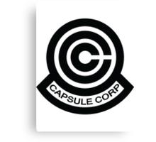 The Capsule Corporation logo Canvas Print