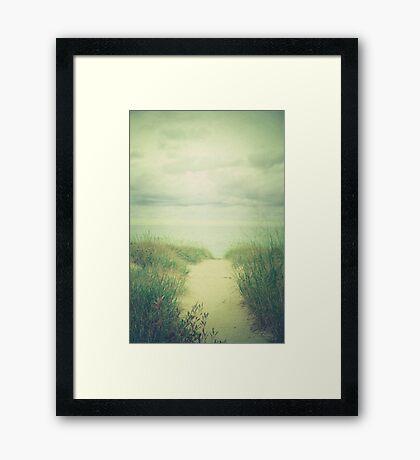 Finding Calm Framed Print