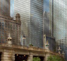 City - Chicago IL - Continuing a Legacy Sticker