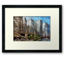 City - Chicago IL - Continuing a Legacy Framed Print