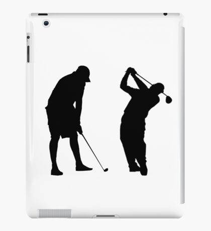 Golfers in Action  iPad Case/Skin