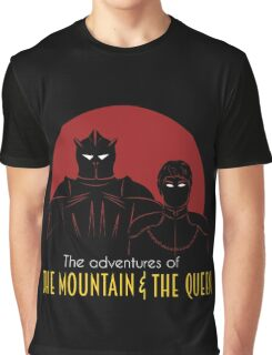 The Adventures of the mountain and the queen Graphic T-Shirt