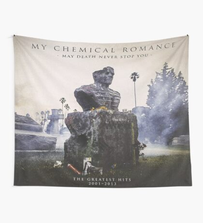 May Death Never Stop You Flag Wall Tapestry
