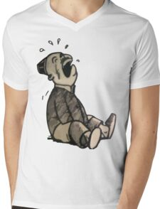 laugh Mens V-Neck T-Shirt