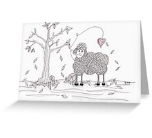 Do Ewe Love Fall Greeting Card
