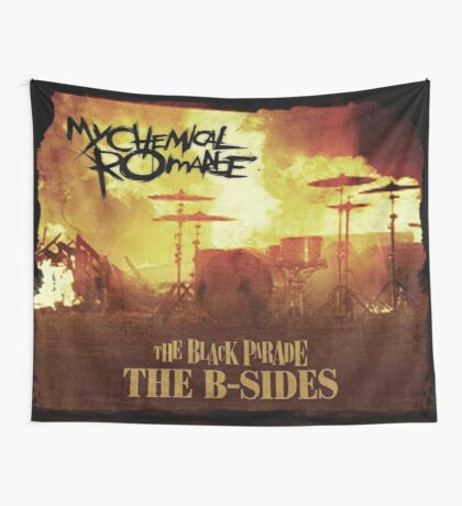 The Black Parade: the B-Sides Flag Wall Tapestry