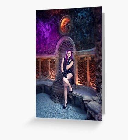 Latex in a Cave Greeting Card