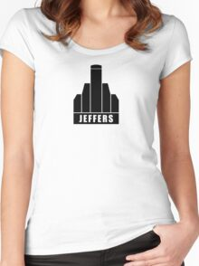 Jeffers Corporation Women's Fitted Scoop T-Shirt