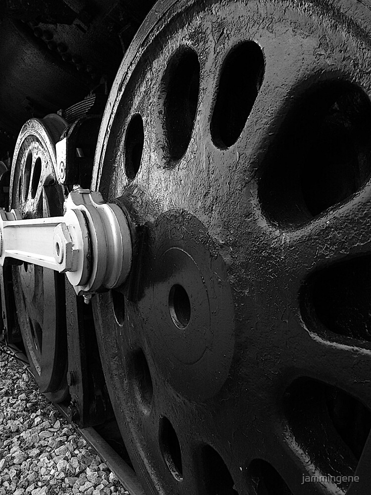 New York Central 3001 4-8-2. #2....the wheels of steel by jammingene