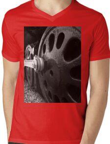 New York Central 3001 4-8-2. #2....the wheels of steel Mens V-Neck T-Shirt