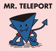 Mr. Teleport One Piece - Short Sleeve