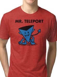Mr. Teleport Tri-blend T-Shirt