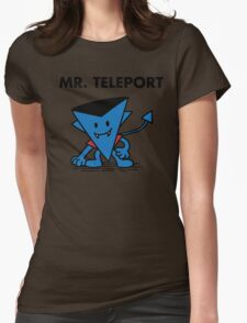 Mr. Teleport Womens Fitted T-Shirt