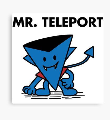Mr. Teleport Canvas Print