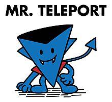 Mr. Teleport Photographic Print