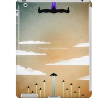 Aster Assault iPad Case/Skin