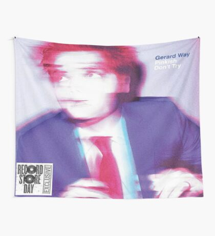 Pinkish/Don't Try Flag Wall Tapestry