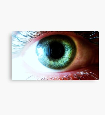 Eye HQ picture taken with macro lens Canvas Print