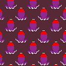 Propeller Hat Octopus Pattern by SaradaBoru
