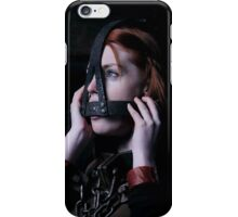 Fi Stevens in the Scolds Bridle and Shackles iPhone Case/Skin
