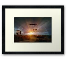 Wind beneath my wings Framed Print