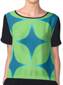 Modern Pattern for a fresh look Chiffon Top