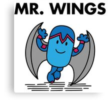 Mr. Wings Canvas Print