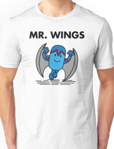 Mr. Wings Unisex T-Shirt