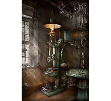 Machinist - Where inventions are born Photographic Print