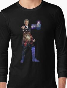 Galactic Peter Capaldi Long Sleeve T-Shirt